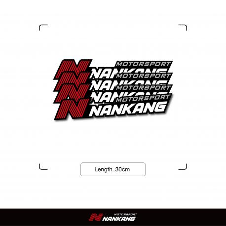 Framed Nankang Sticker 4pcs (Width 30cm)