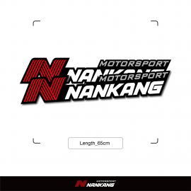 Framed Nankang Logo Sticker 2pcs (Width 65cm)